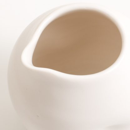 handmade porcelain- dimpled pourer- tableware