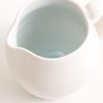 handmade porcelain- blue jug- tableware- tabletop