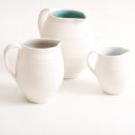 handmade- porcelain- jug - tableware- dinnerware