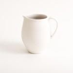 handmade- porcelain- jug- grey - tableware- dinnerware