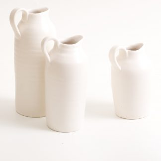 handmade porcelain- pouring bottle- tableware