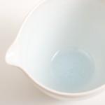 dinnerware- tableware- handmade porcelain- turquoise pourer- pouring bowl