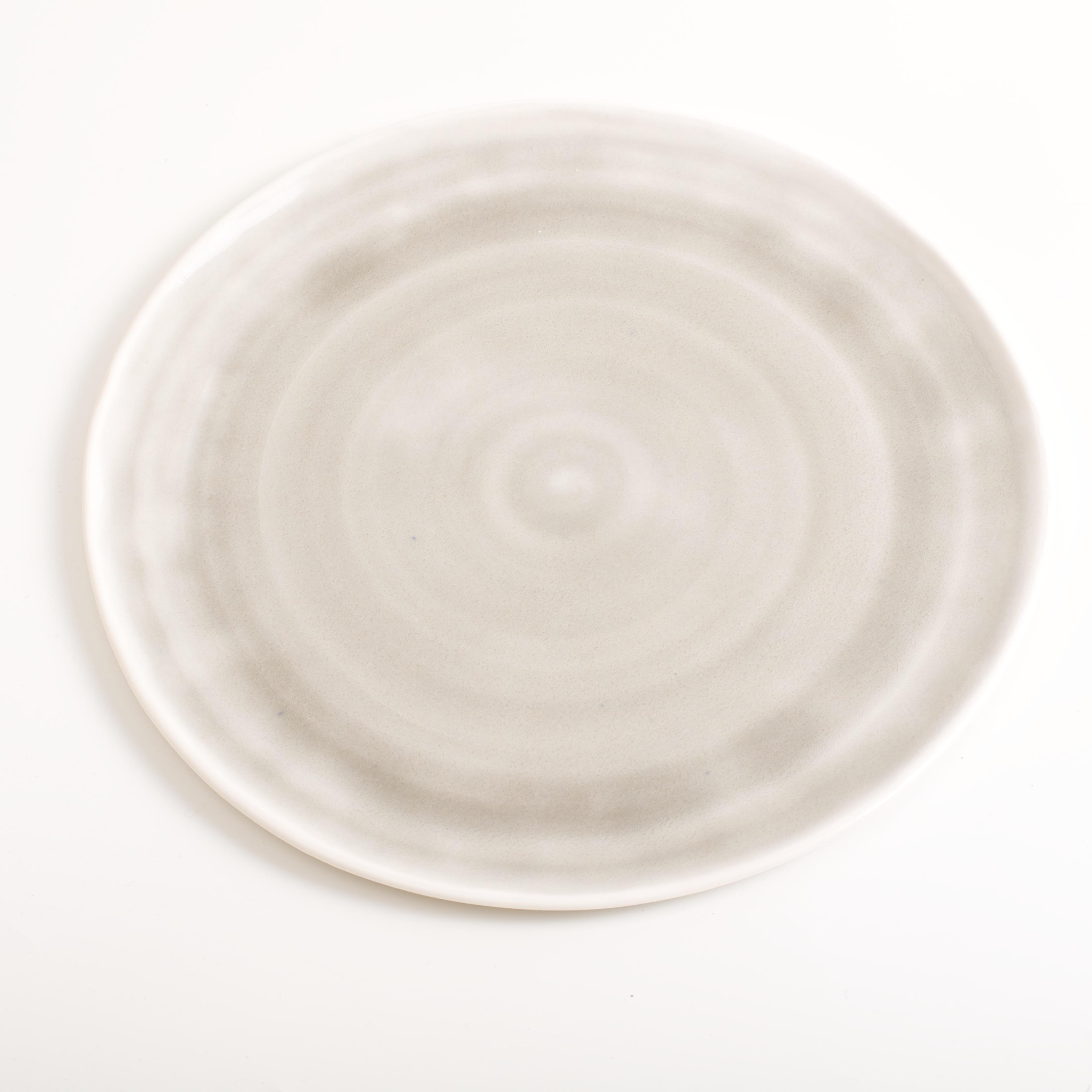 ... handmade porcelain- dinnerware- tableware- grey plate ... & Handmade plate | Linda Bloomfield