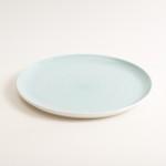 dinnerware- plate- tableware designer- porcelain designer- porcelain plate- made in china- blue plate- dinner plate