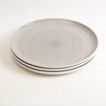 dinnerware- plate- tableware designer- porcelain designer- porcelain plate- made in china- grey dinnerware- restaurant tableware