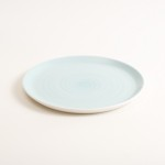 dinnerware- plate- tableware designer- porcelain designer- porcelain plate- made in china- blue plate
