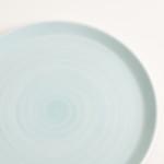 blue plate- tableware designer- porcelain designer- porcelain plate- made in china