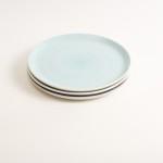 dinnerware- plate- tableware designer- porcelain designer- porcelain plate- made in china- restaurant tableware- turquoise