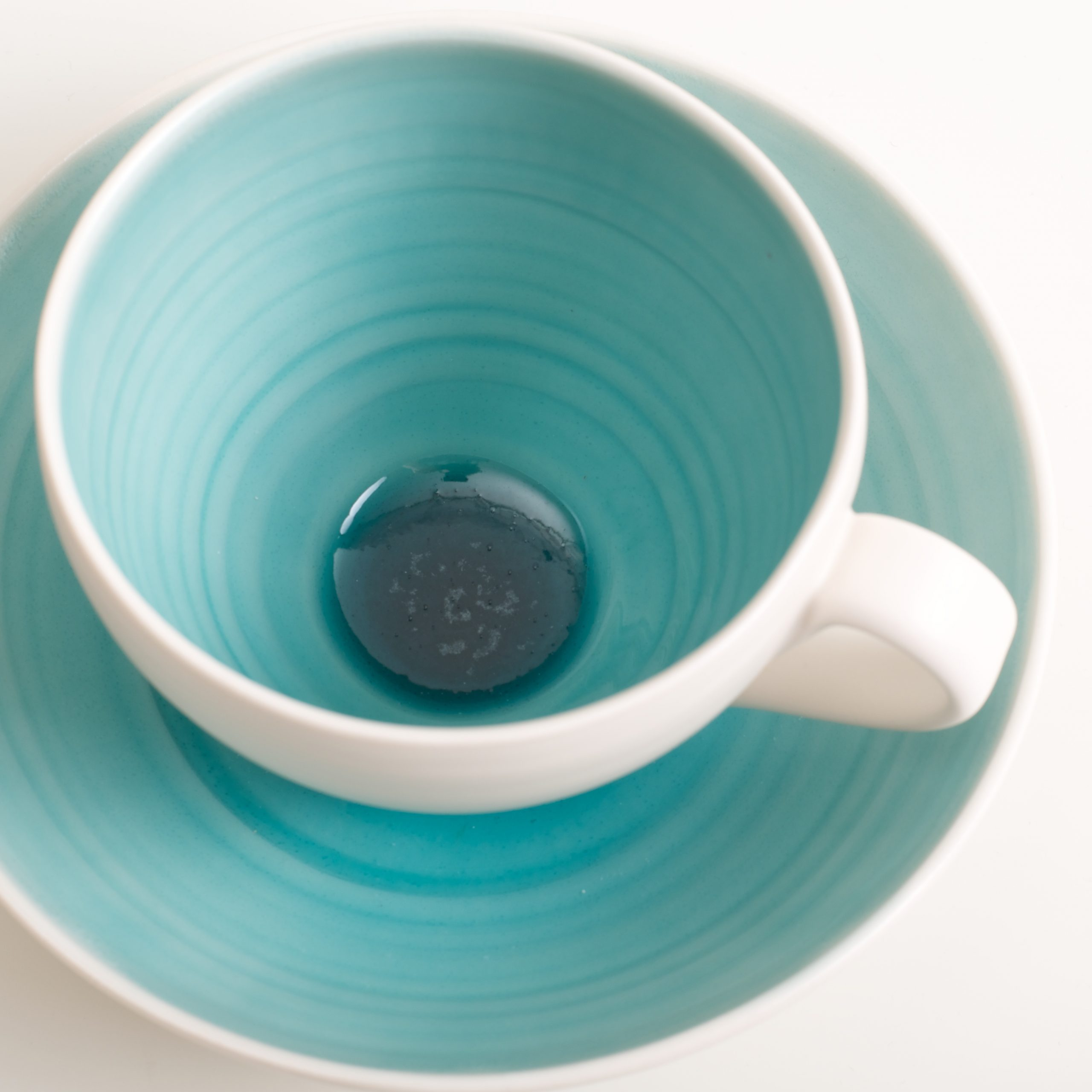 Handmade Cup And Saucer Linda Bloomfield