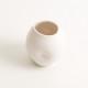 handmade porcelain- tableware- dinnerware- pourer- dimpled pourer- white -
