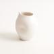handmade porcelain- tableware- dinnerware- pourer- dimpled pourer- milk -
