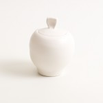 handmade porcelain- tableware- dinnerware- sugar pot- tea set- pink