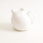 Linda Bloomfield white bone china organic teapot