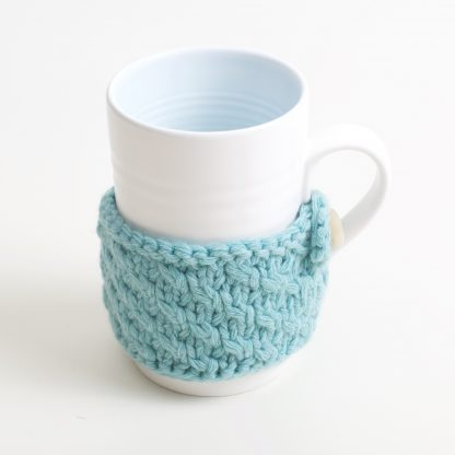 blue cosy porcelain mug
