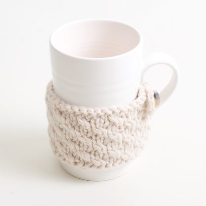 pink porcelain cosy mug