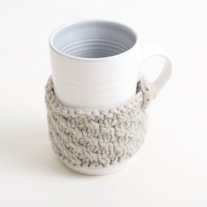 Grey cosy mug