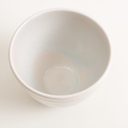 Bowl- grayshott bowl- tea bowl- blue sugar bowl- blue tea bowl- cafe ware- cafe range stoneware collection