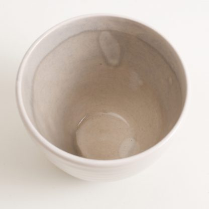 grayshott bowl- tea bowl- grey sugar bowl- grey tea bowl- cafe ware- cafe range stoneware collection