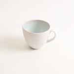 grayshott cup- coffee cup- tea cup- blue cup- cafe ware cafe range