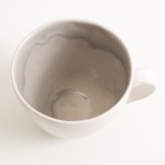 stoneware cup- grayshott pottery- coffee cup- grey cup- linda bloomfield-