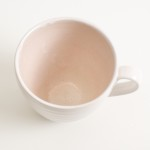 Linda Bloomfield cup and saucer - pink