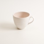 grayshott cup- coffee cup- tea cup- pink cup- stoneware range- cafeware