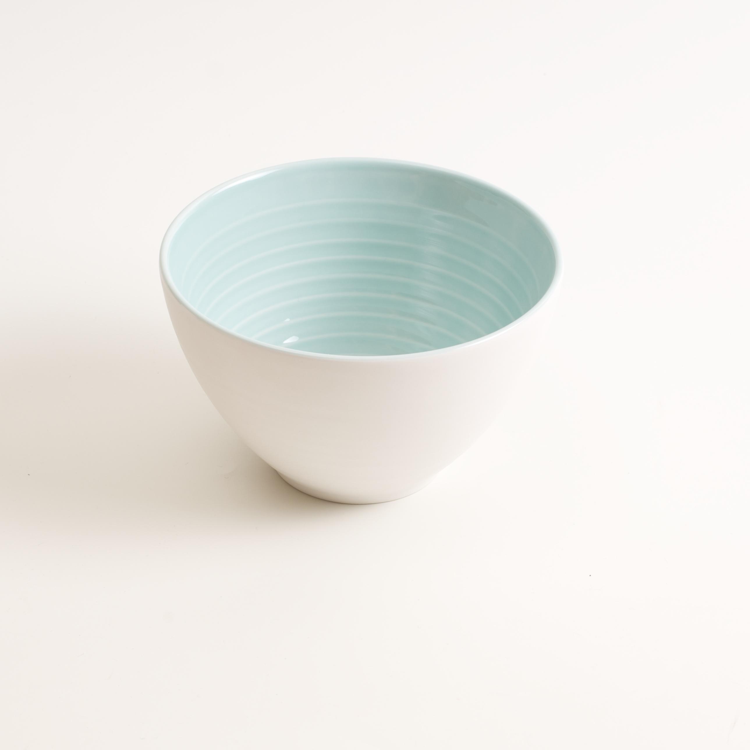 porcelain tableware- made in china- blue bowl- linda bloomfield- porcelain designer- ... & Manufactured bowl   Linda Bloomfield