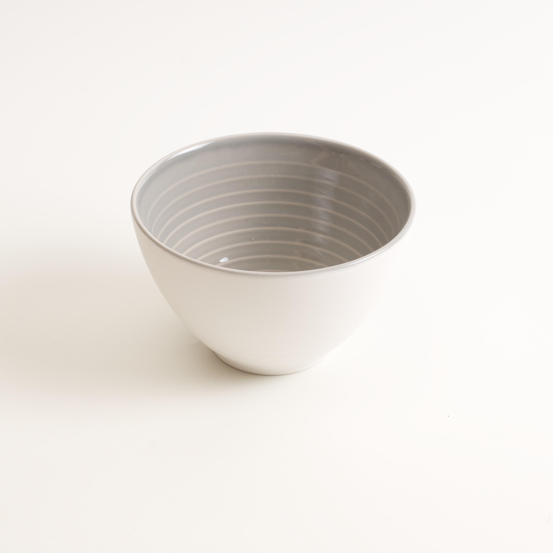 ... porcelain tableware- made in china- grey bowl- linda bloomfield- porcelain designer- ... & Manufactured bowl   Linda Bloomfield