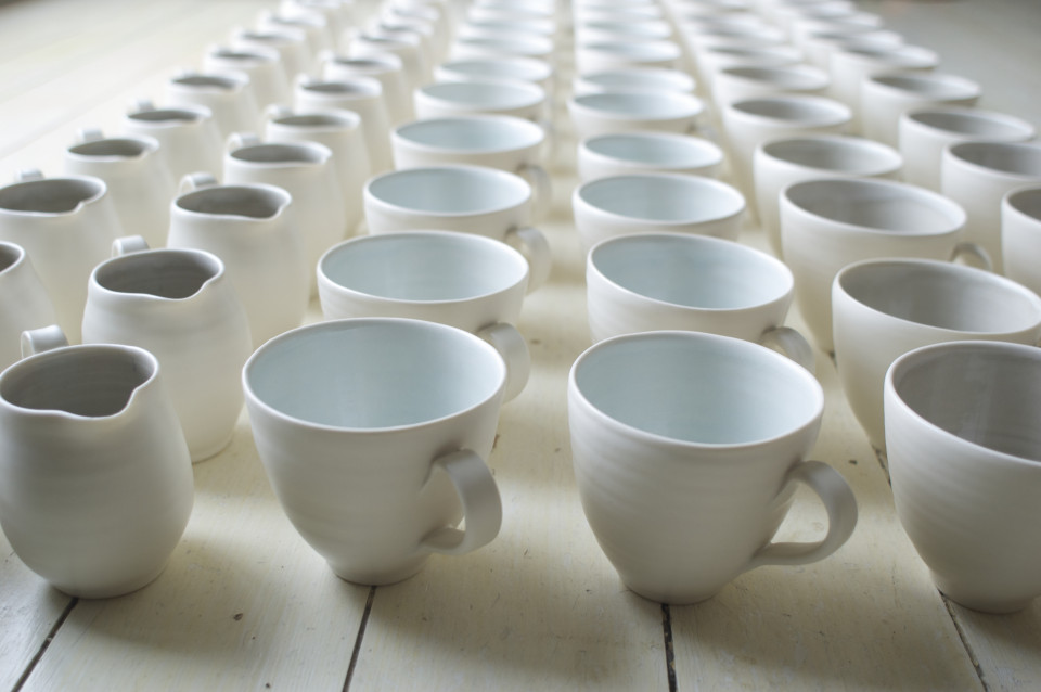 handmade porcelain- cups- jugs- tea cup- coffee cup-