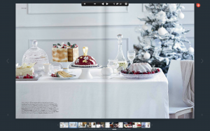 Cake stand in Harrdos magazine