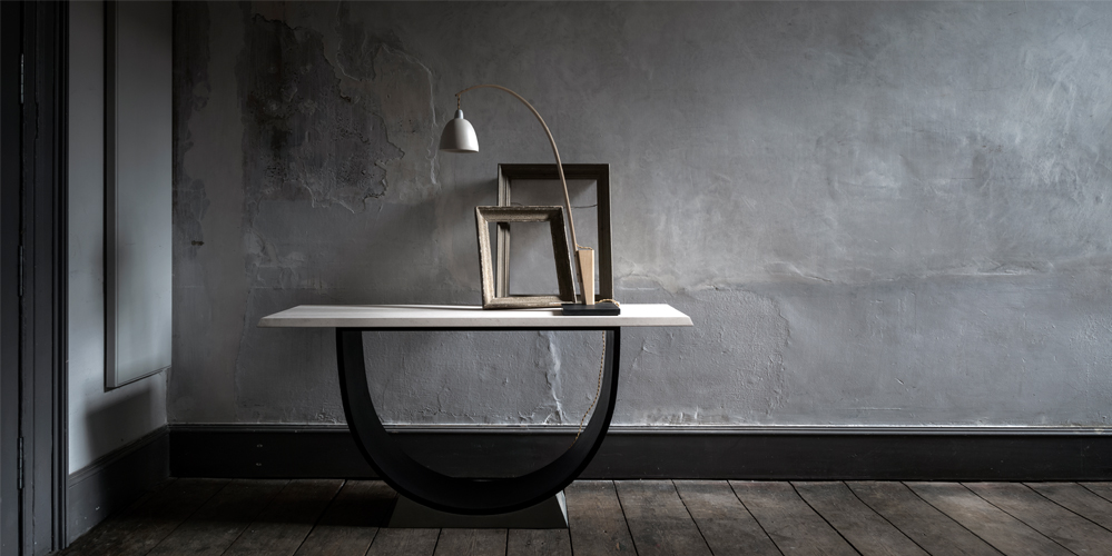 Snowdrop light at Benchmark Furniture. Photo by Paul Raeside.