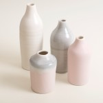 Linda Bloomfield- bottles- pink- grey- slim bottles