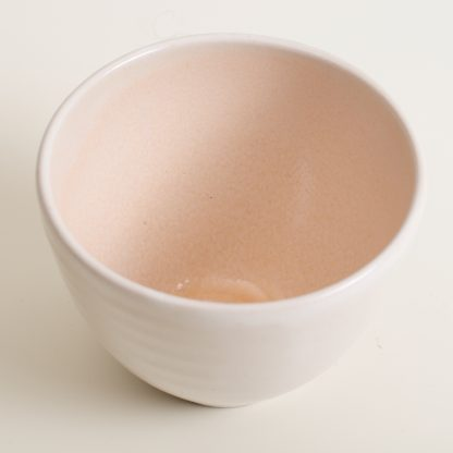 Linda Bloomfield- Pink bowl- grayshot pottery