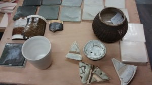 Photo from West Dean glaze course