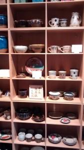 Mashiko pots at Beams Fennica
