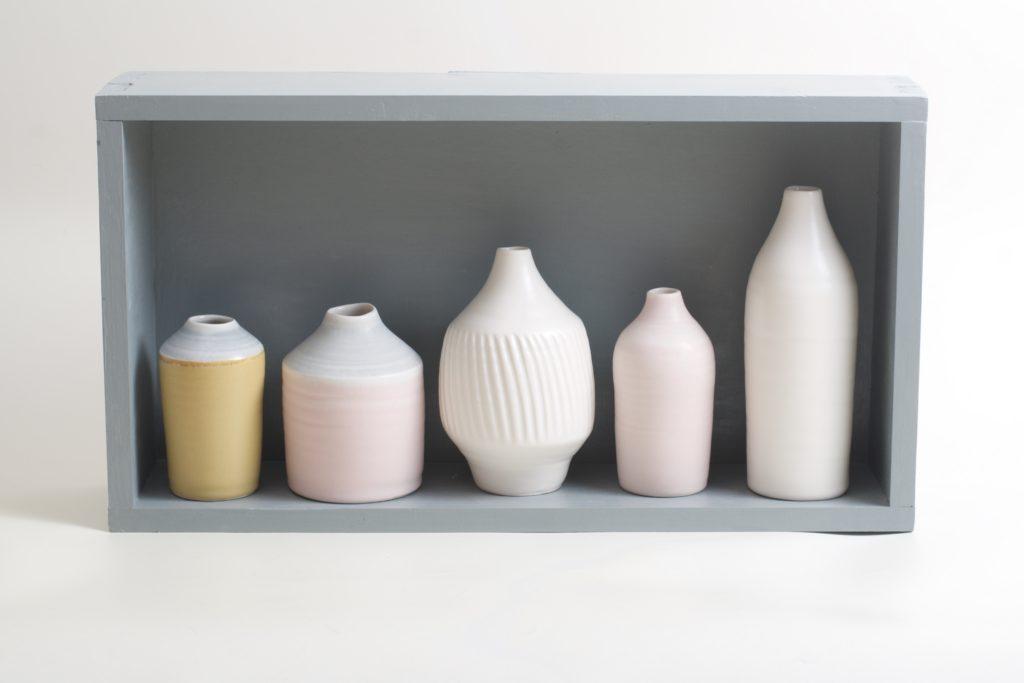 Porcelain bottle collection