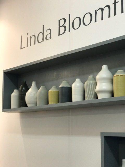 Lina Bloomfield at London Design Festival- Morandi Bottles
