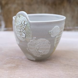 grey medium lichen bowl