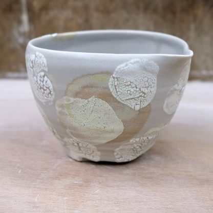 lichen effect pouring bowl